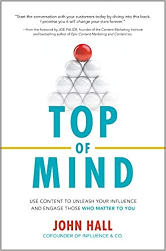 Top of Mind by John Hall