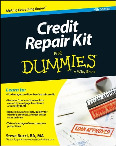 Credit Repair Kit for Dummies by Steve Bucci