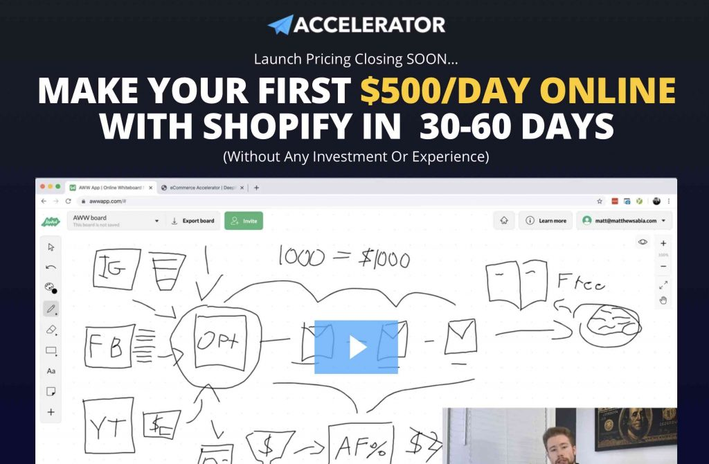 E-Commerce Accelerator Program by Deepwork Labs