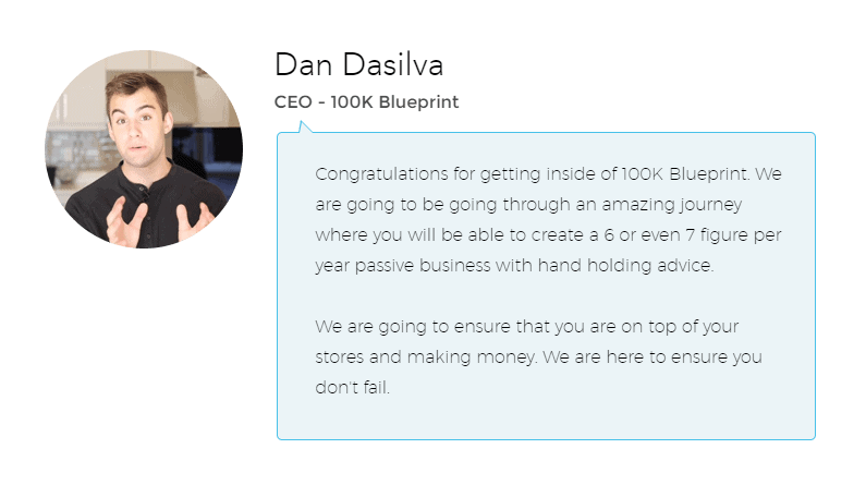100k Blueprint Dan Dasilva