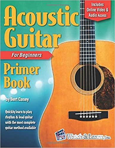 Acoustic Guitar Primer Book for Beginners