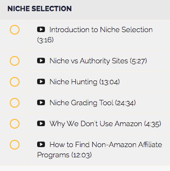 Affiliate Lab Niche Selection