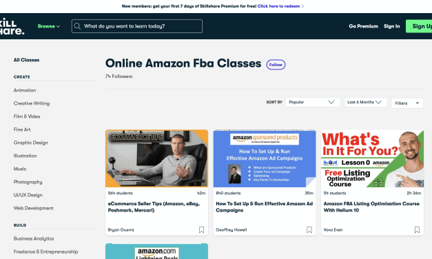 Best Amazon FBA Courses - 8 Top Picks For Success