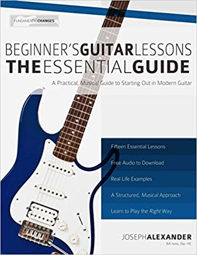 Beginner's Guitar Lessons book