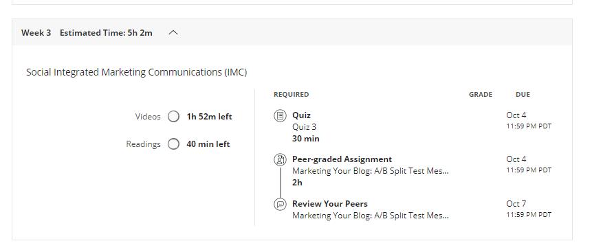 Coursera Assignment