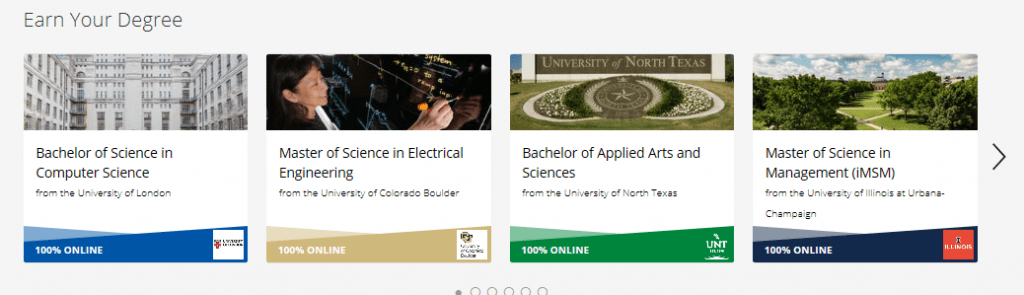 Coursera Degree