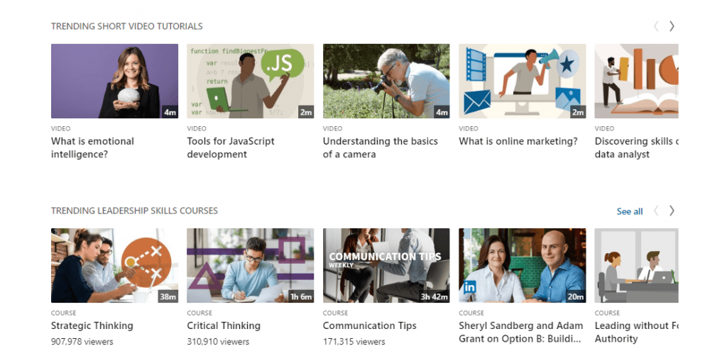 LinkedIn Learning Courses