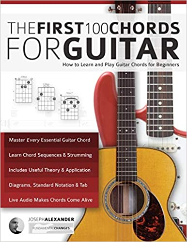 The First 100 Chords for Guitar