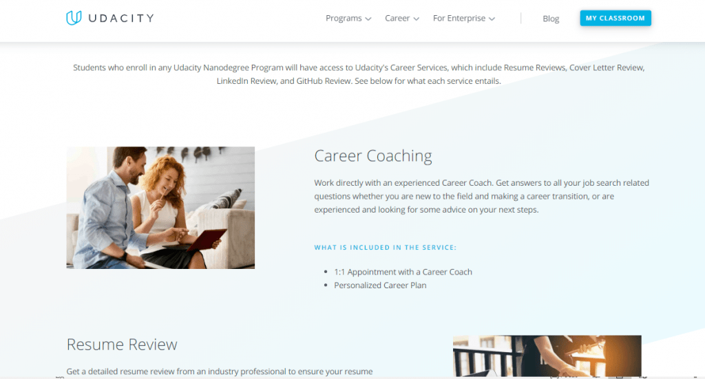 Udacity Career Resources