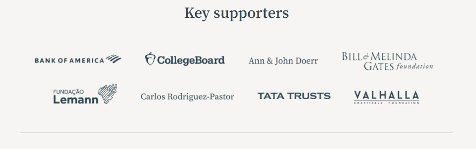 Khan Academy Supporters