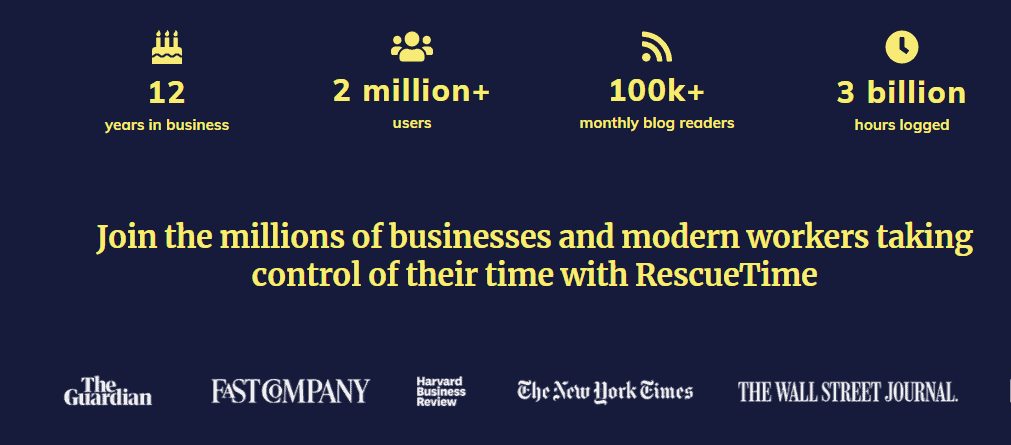 RescueTime Partners