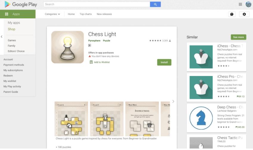 Chess Light
