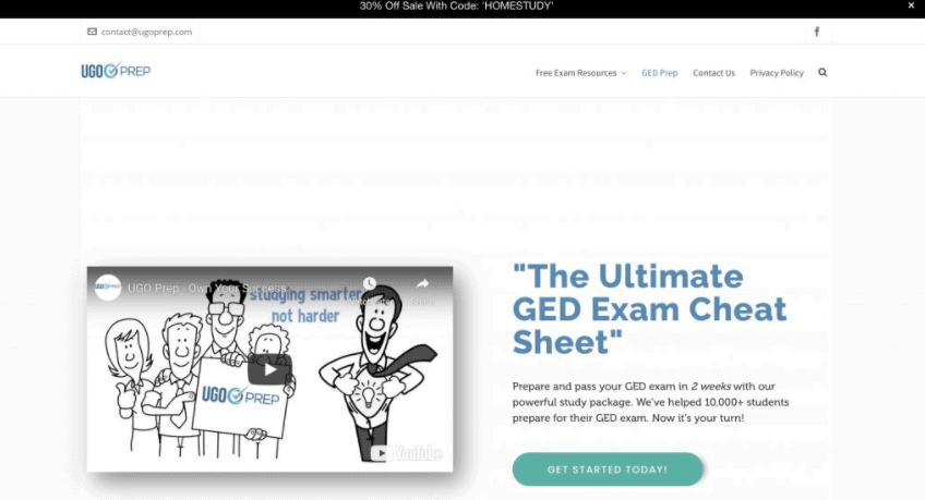 UGO Prep GED Course