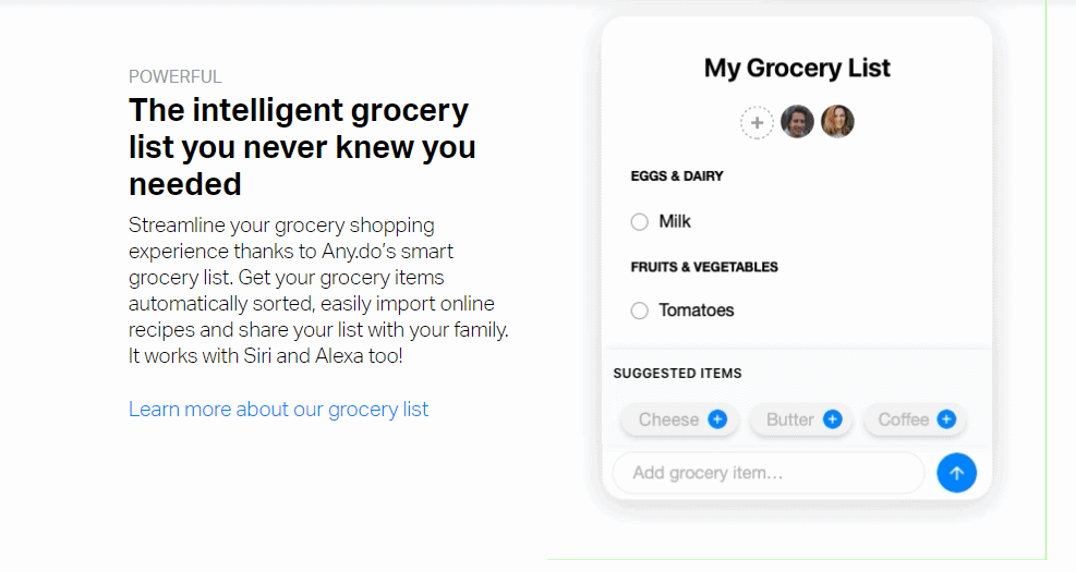 Any.Do Grocery
