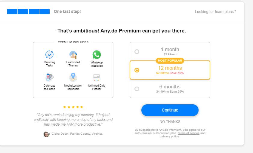 Any.Do Premium