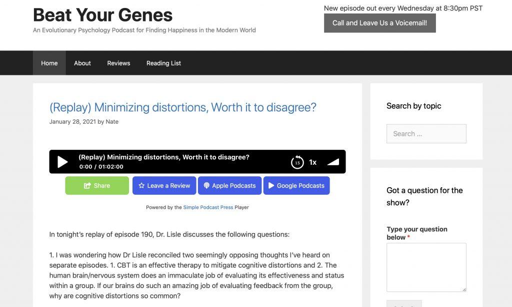 Beat Your Genes