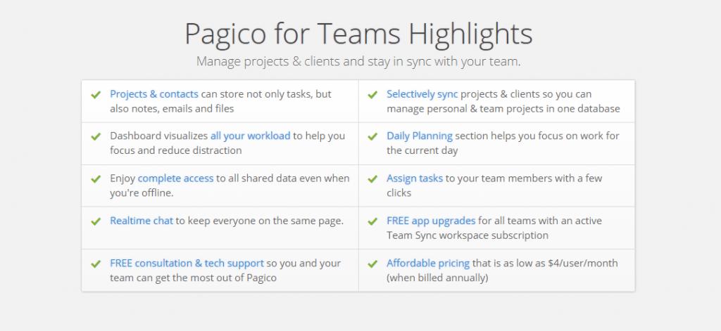 Pagico Teams