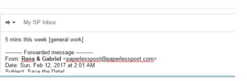 SkedPal Emails