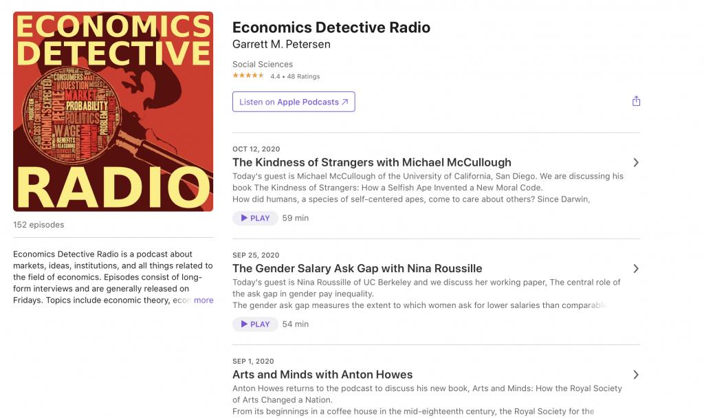 The Economics Detective