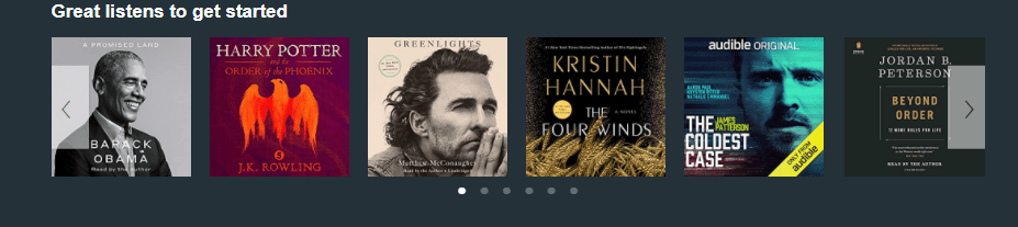 Audible Selection