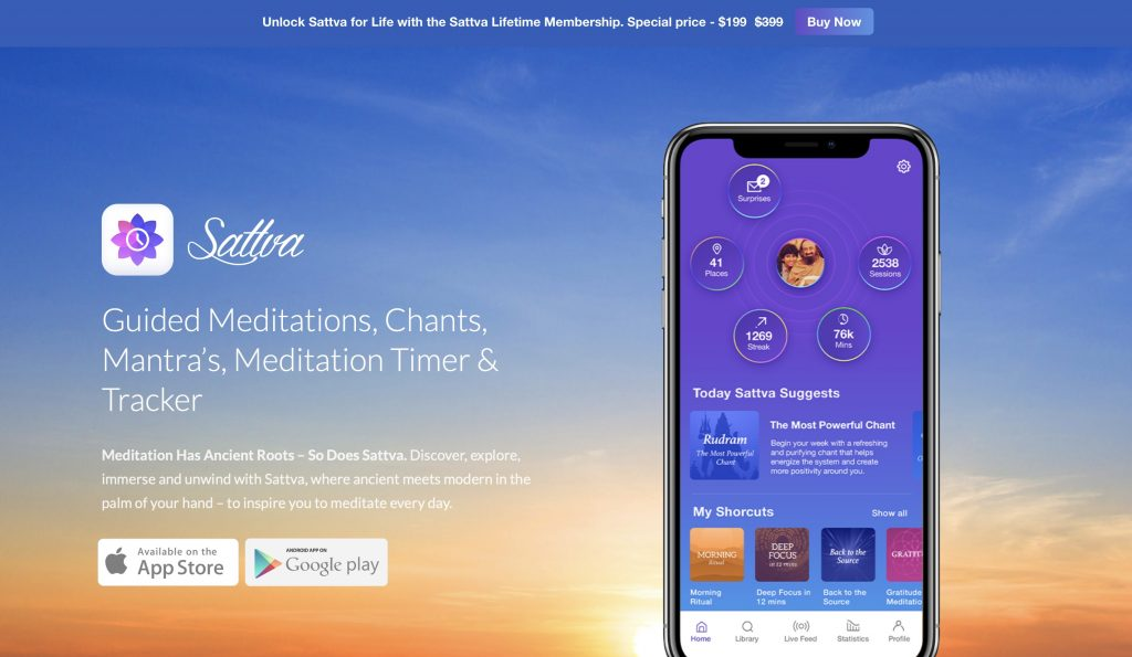 Sattva Website