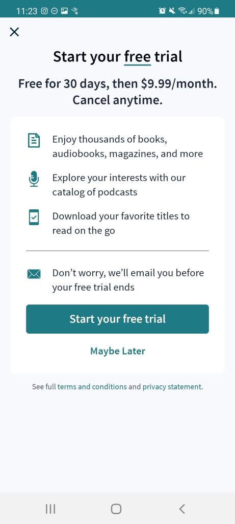 Scribd Pricing