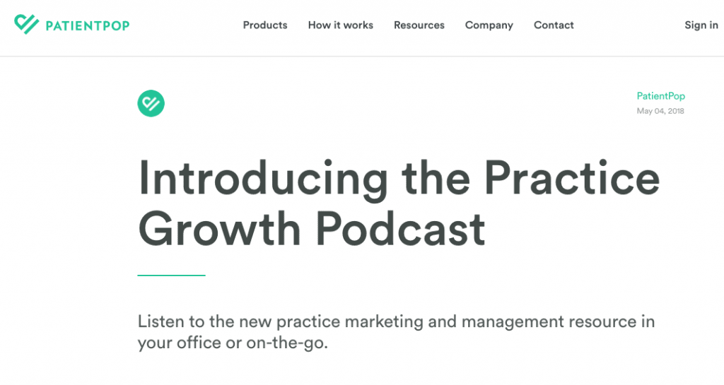The Practice Growth Podcast