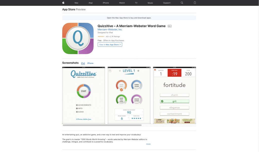 Best Vocabulary Game-Quizzitive-Vocabulary-Game