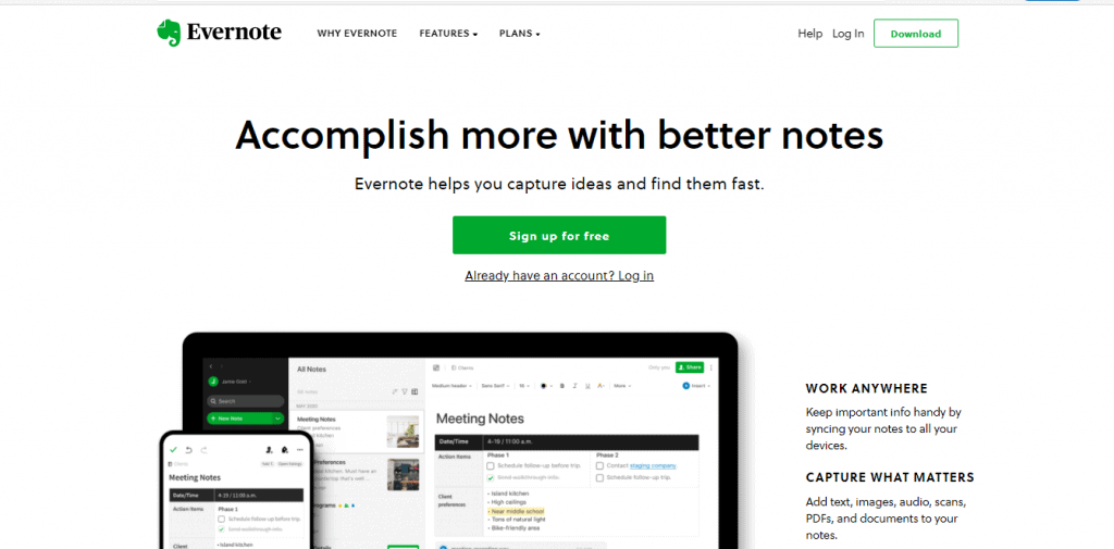 Evernote Review