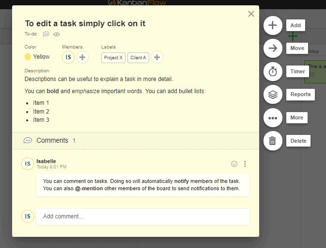 KanbanFlow Task