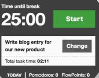 KanbanFlow Time Tracking