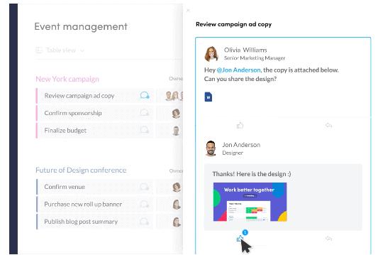 Monday.com Communication